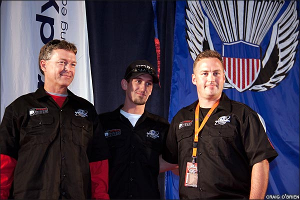Steve, Stevie, and Eric Boyd of Skydive Spaceland