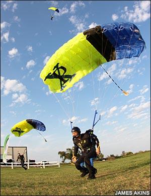 Paraclete landings