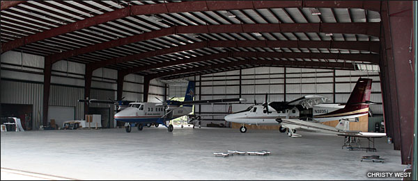 Second hangar