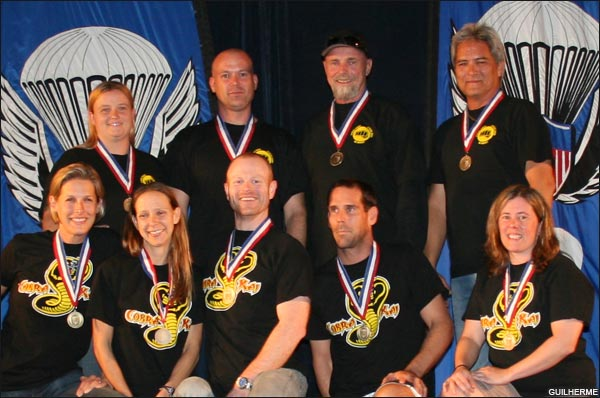 8-way intermediate gold medalists Perris Cobra Kai