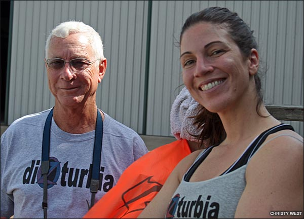 Sarah Knipling of Dizturbia and Dad