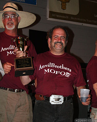 Jerry Ross gets Anvil of the Year award