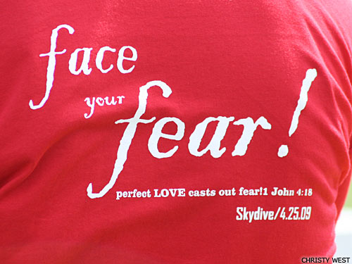 Face the fear shirt