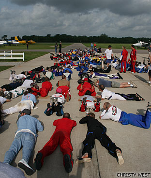 Preparing to measure the formation