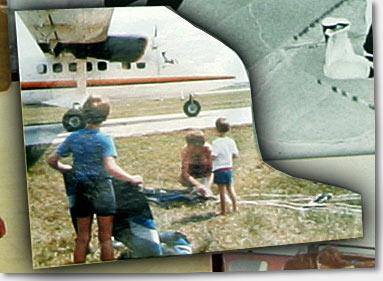 The Boyd family, circa 1985