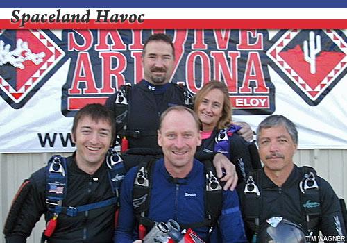 Spaceland Havoc, advanced 4-way competitors