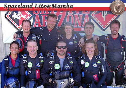 Spaceland Lite & Mamba, bronze medalists in intermediate 8-way