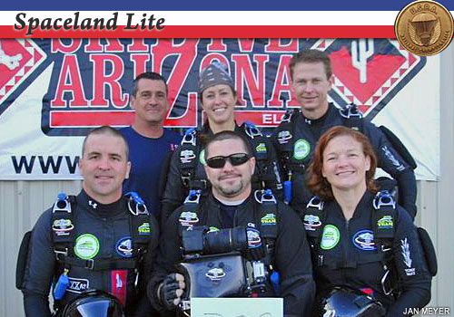 Spaceland Lite, gold medalists in advanced 4-way