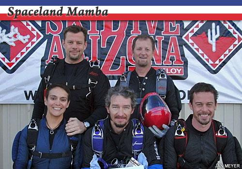 Spaceland Mamba, advanced 4-way competitors