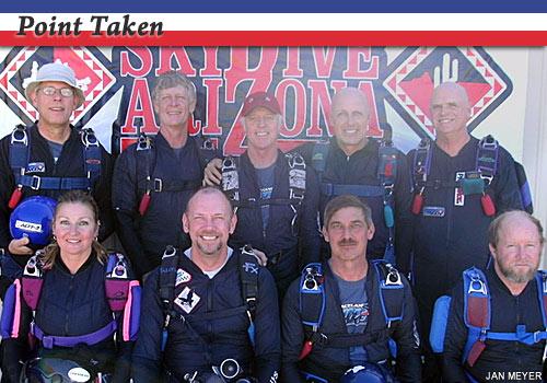 Point Taken 8-way team