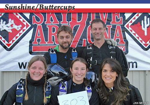 Sunshine/Buttercups 4-way team